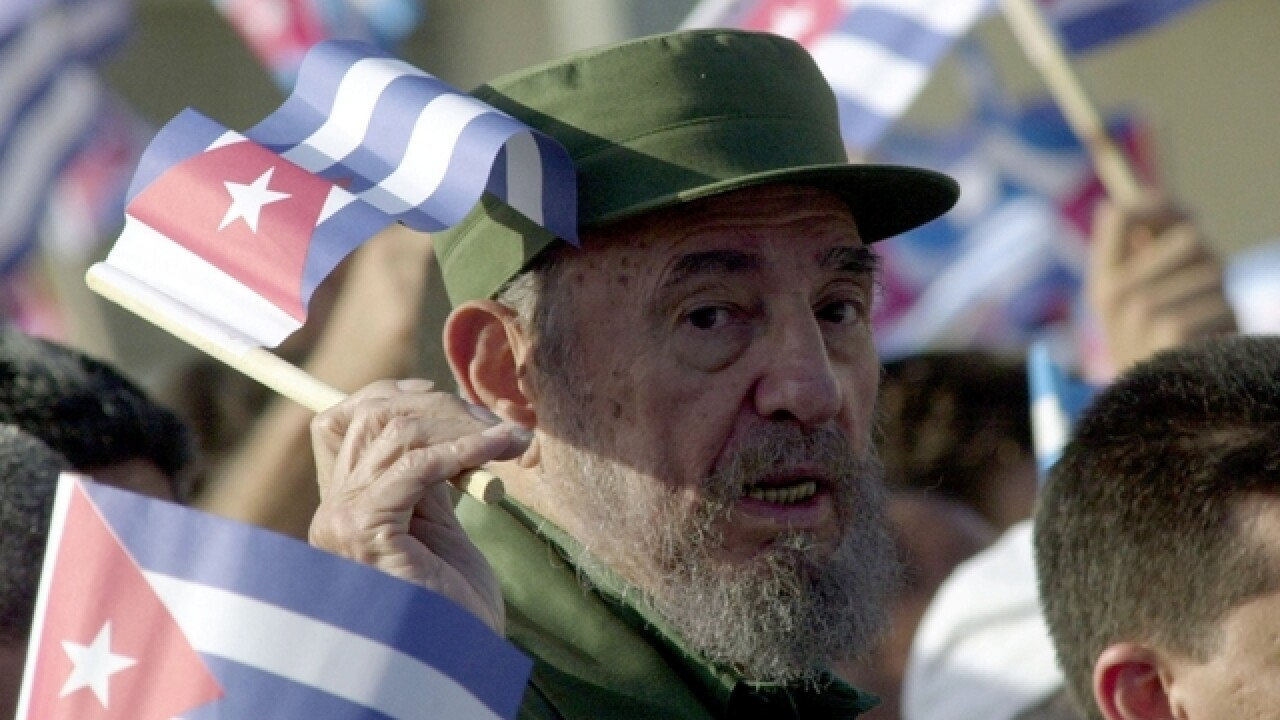 Fidel Castro, former Cuban leader, dead at 90