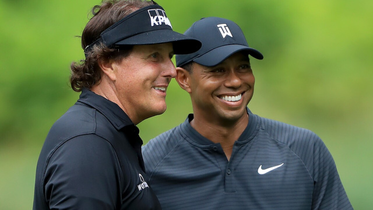 Tiger Woods, Phil Mickelson set for pay-per-view Thanksgiving weekend