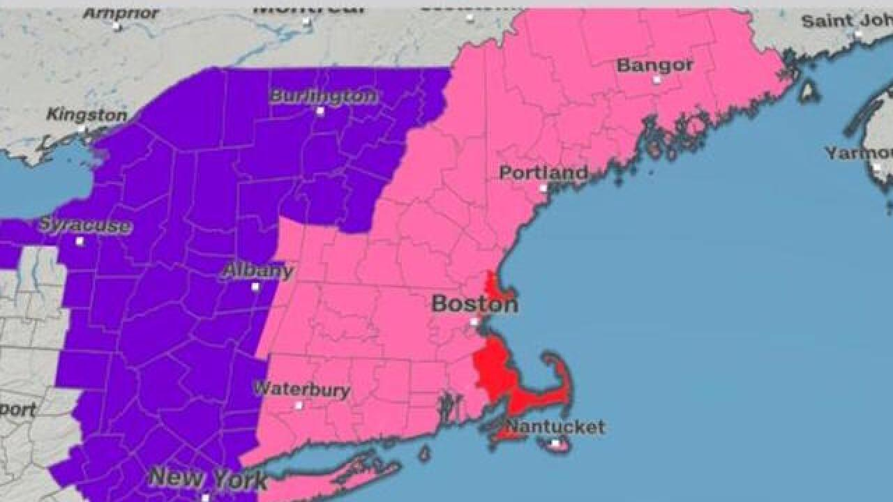 New England braces for third blizzard in less than two weeks