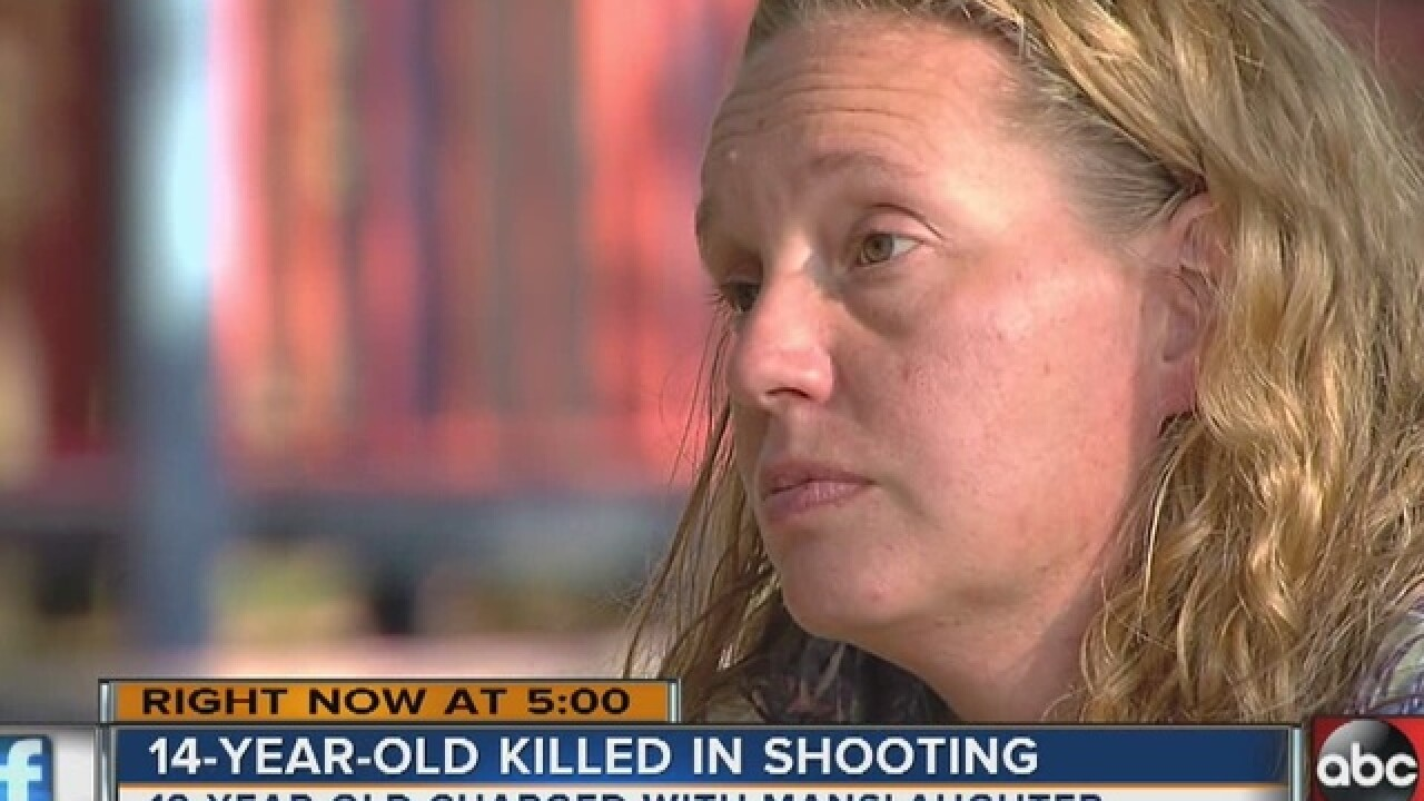 Shooting suspect and victim's mother speak out