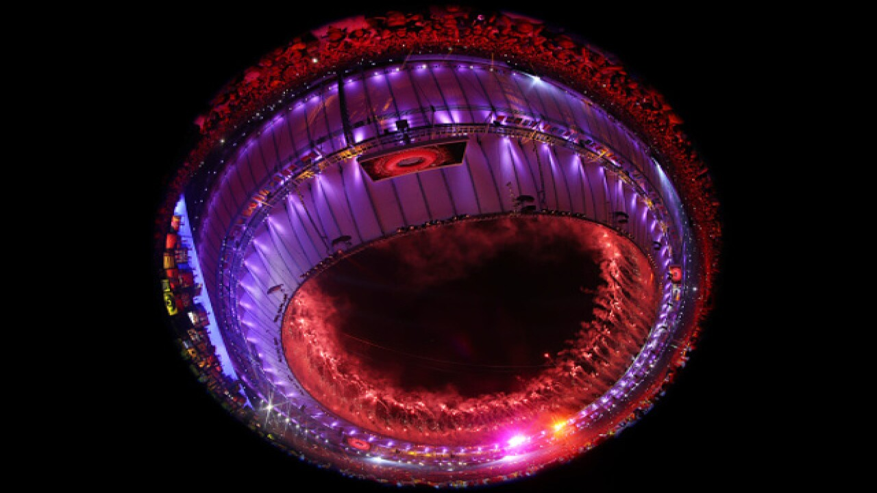 Photos: 2016 Olympic Games opening ceremony