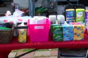 "Taft woman sets up ""Blessing Table"" for those in need"