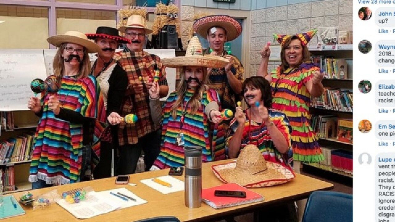 ID school apologizes for teachers' costumes
