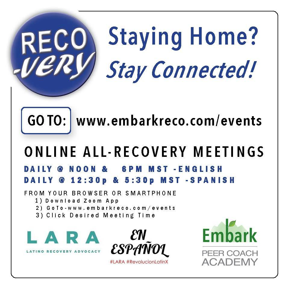 Staying home? Stay Connected!