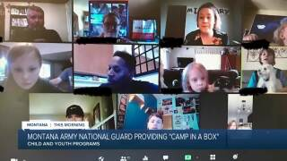 """Montana National Guard working to provide """"Camp in a Box"""" for military kids"""
