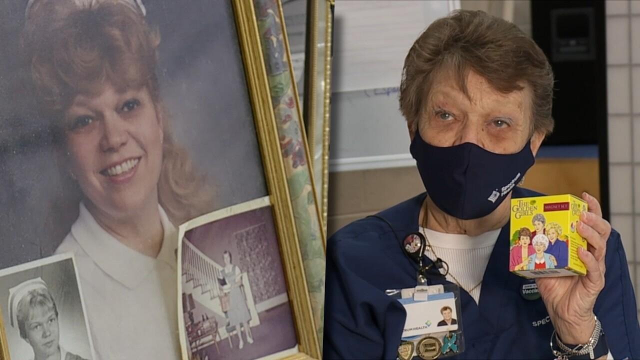 Lana Lucas Golden Girls Nurse