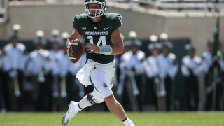 Brian Lewerke, Tyson Smith lead Michigan State over Bowling Green