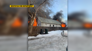 Whitefish Fire Department responds to structure fire Saturday afternoon