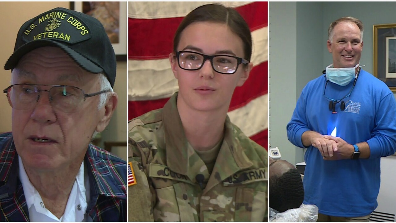 🇺🇸Dentist offers free services for military men and women on FreedomDay