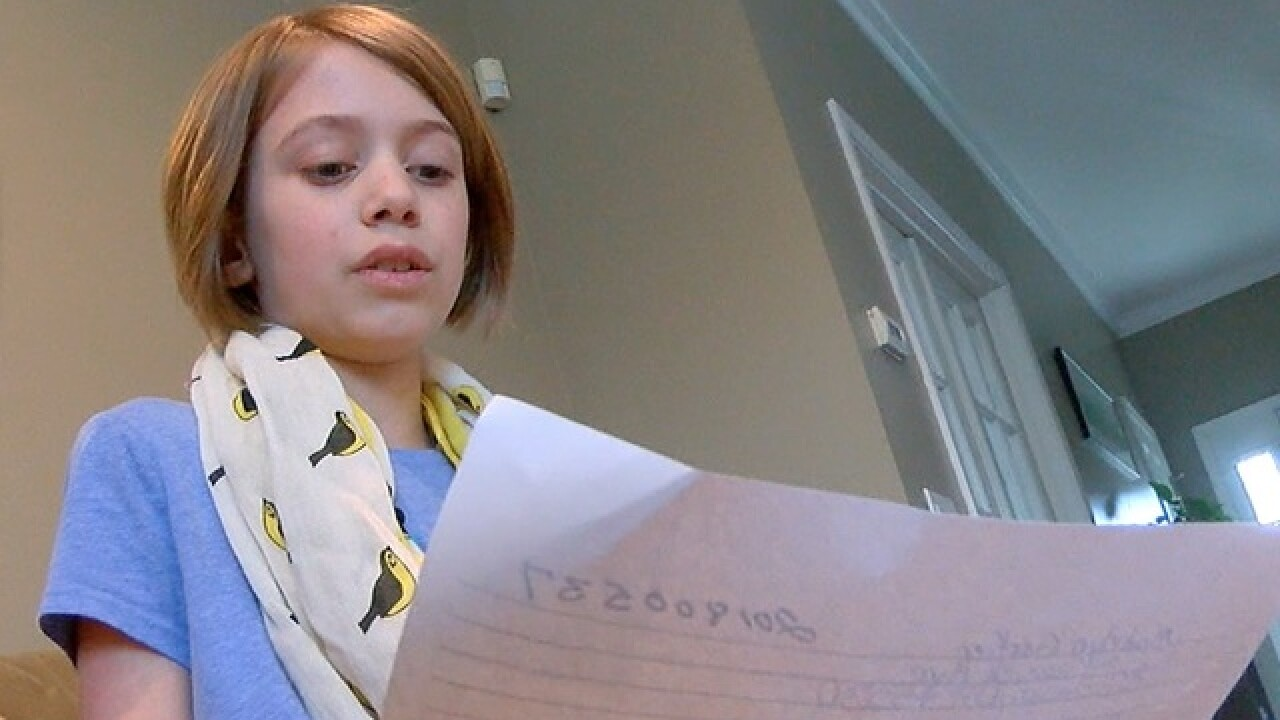9-year-old to city council: 'We need a sidewalk'