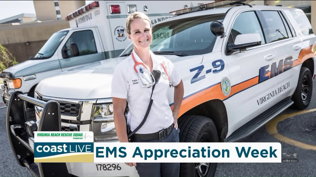 Marking EMS Appreciation Week with two local volunteers from Virginia Beach on Coast Live