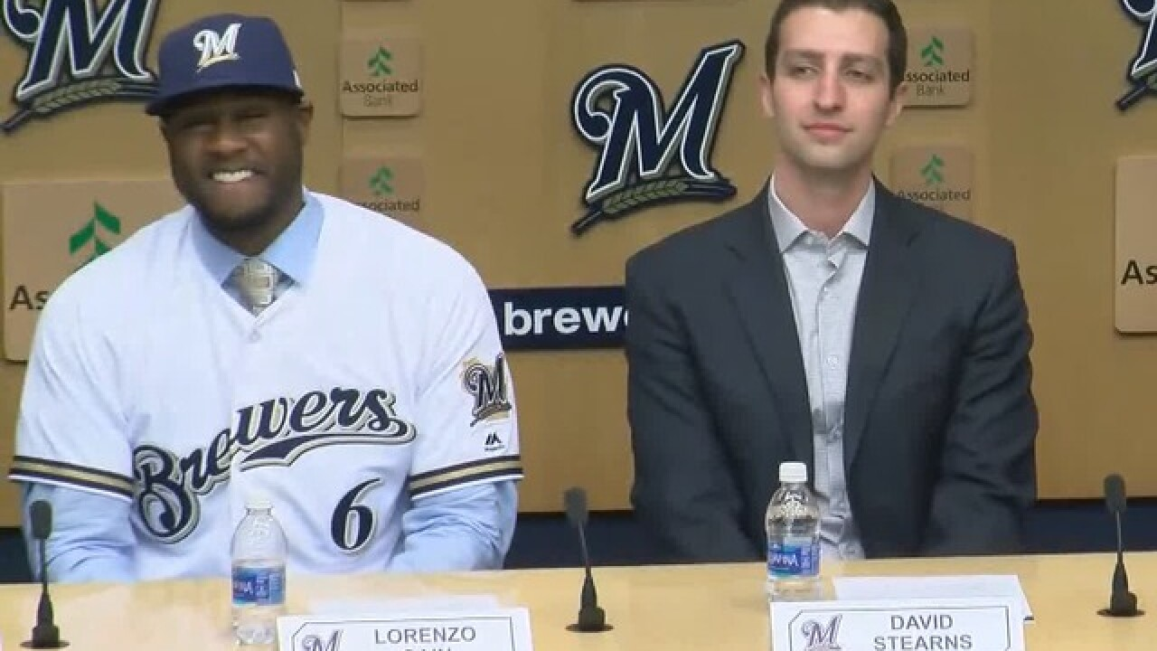 Brewers acquire outfielders Lorenzo Cain and Christian Yelich