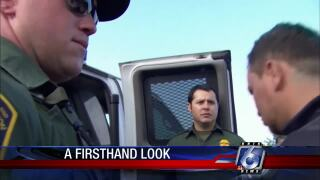 Special Report: U.S. Border Patrol provides protection along the border.