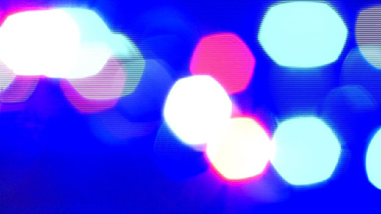 Crime Police Lights Colors Night Generic