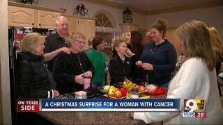 Winter wonderland created for local woman, Mary Even, fighting cancer.jpg