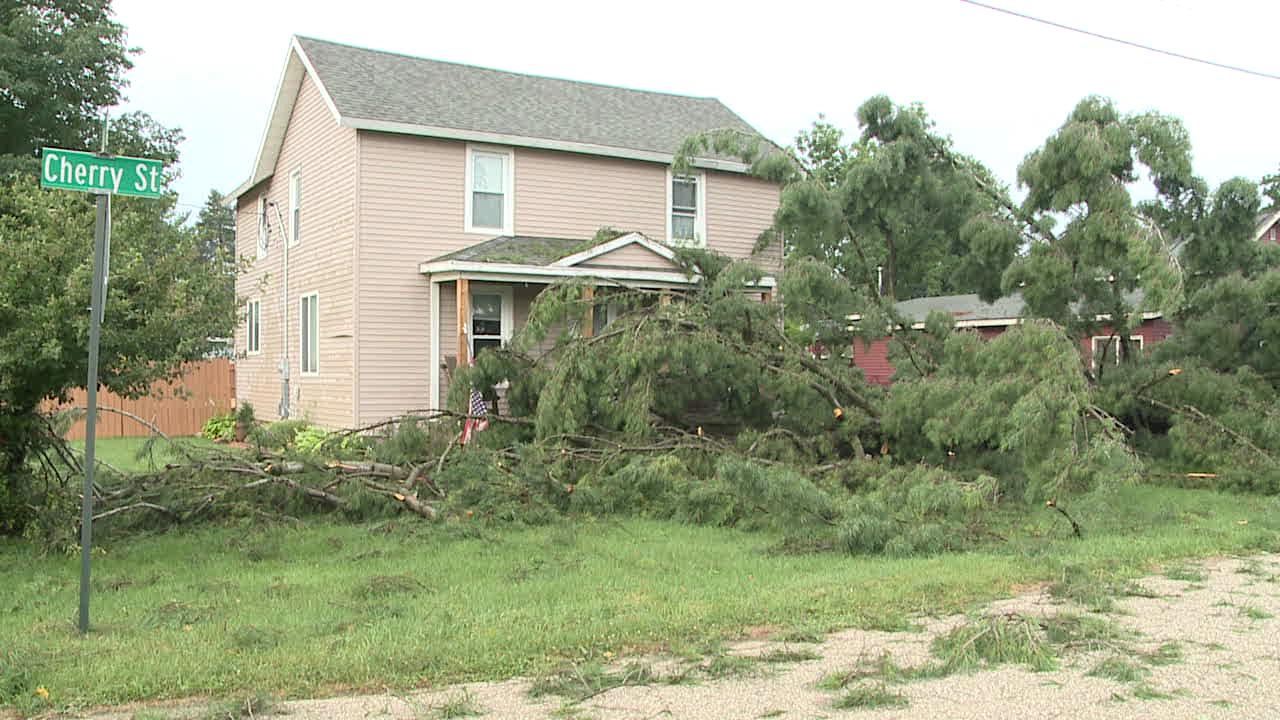 Storm Damage in Dorr