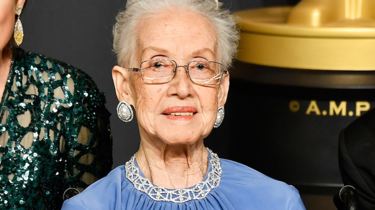 Katherine Johnson, who hand-crunched numbers for America's first manned space flight, is 100 today