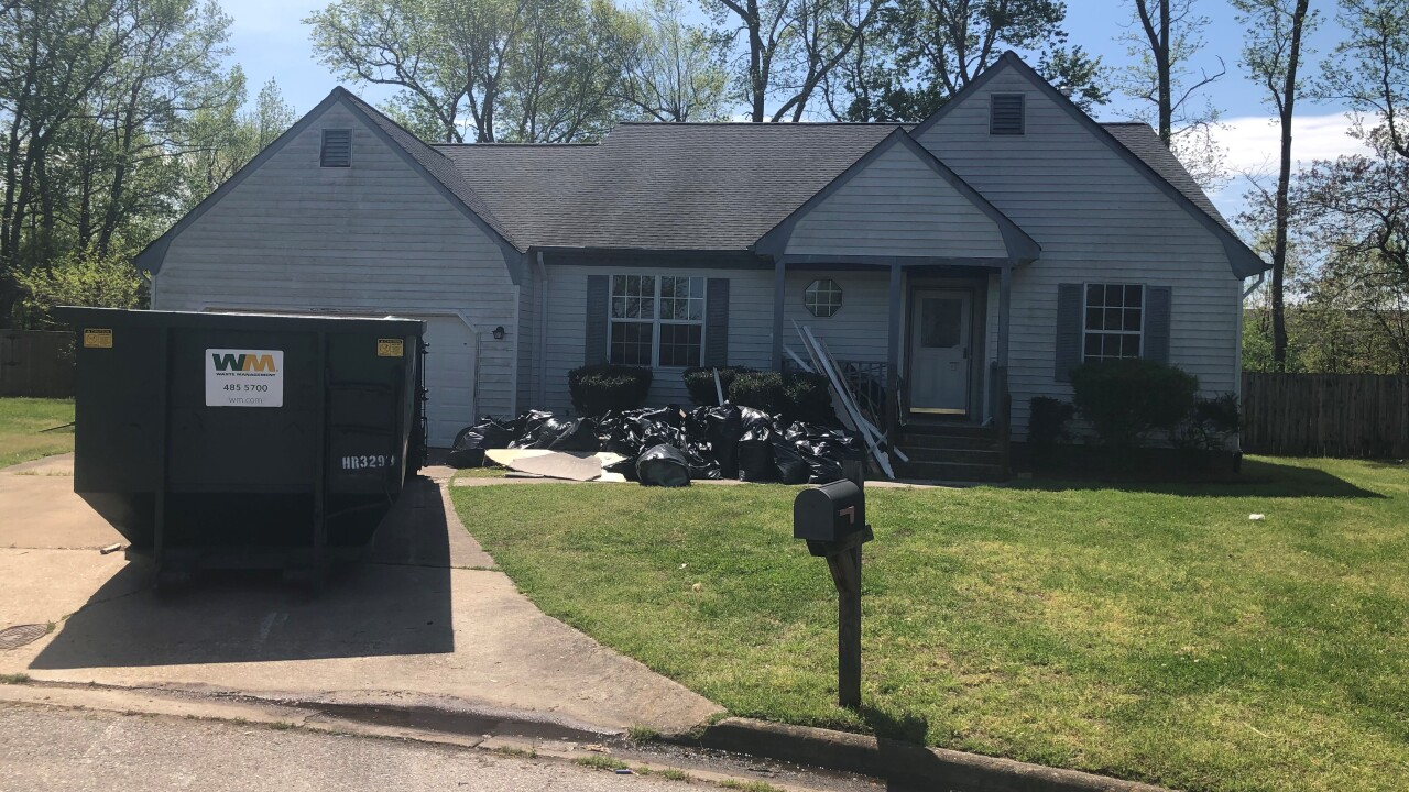 Chesapeake Sheriff's deputy rebuilds after fire destroys familyhome