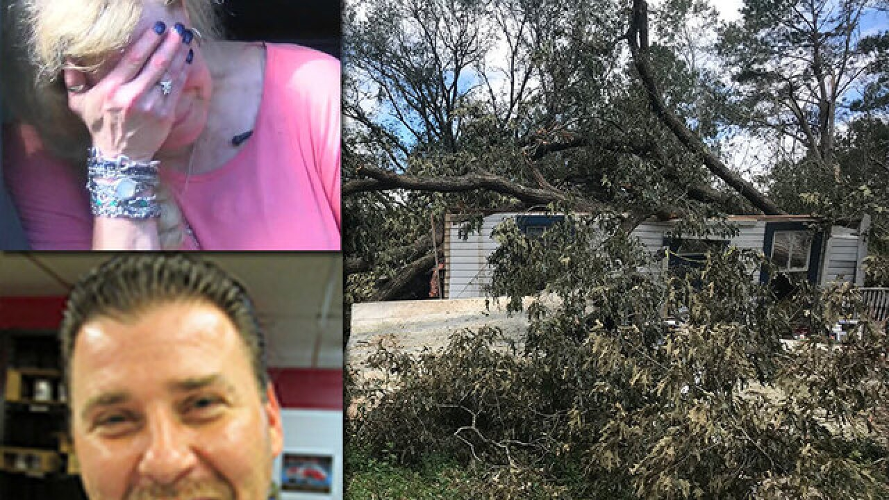 'Hurricane Michael killed the love of my life'