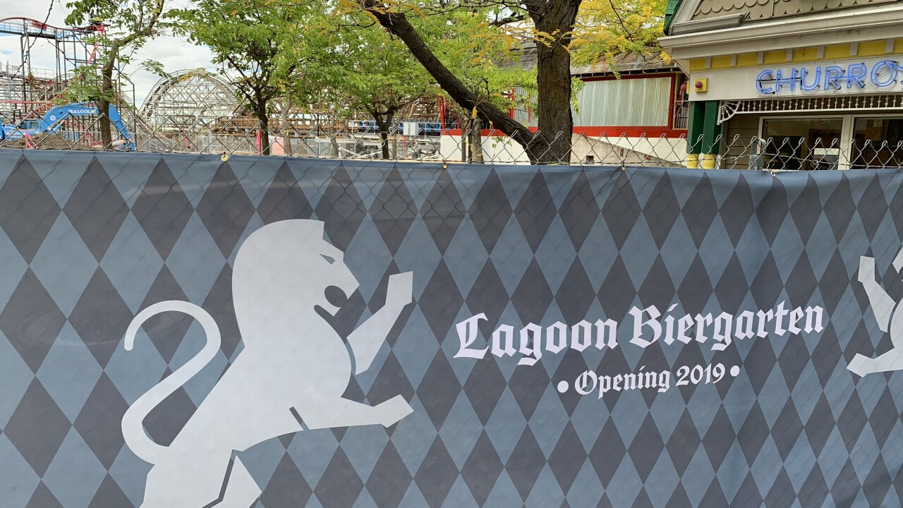 Lagoon to open a beer garden in2019