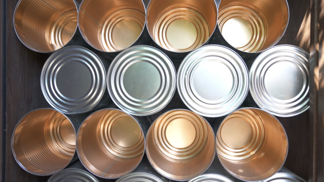 Growing business doing good with canned goods
