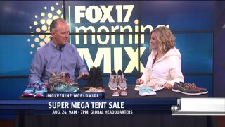 SMART SHOPPER ALERT: Wolverine's Super Mega Tent Sale happening Thursday