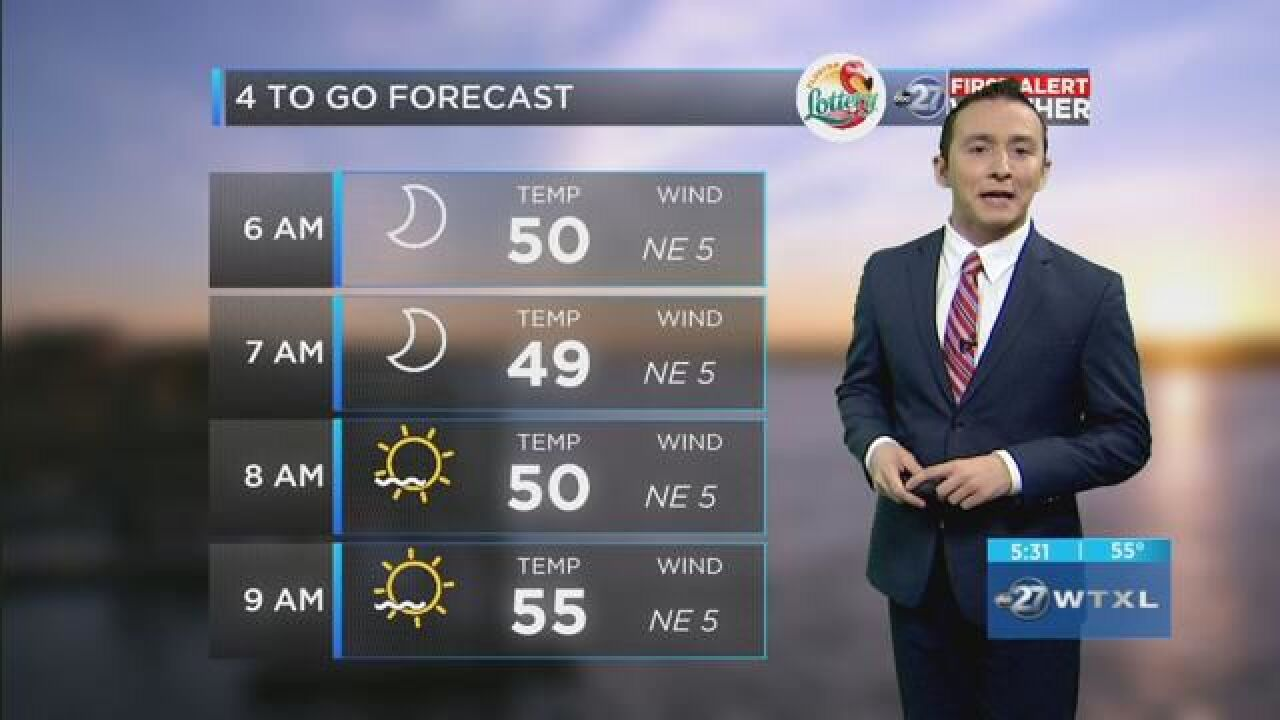 First Alert 4-to-Go Forecast: Oct. 22, 2018