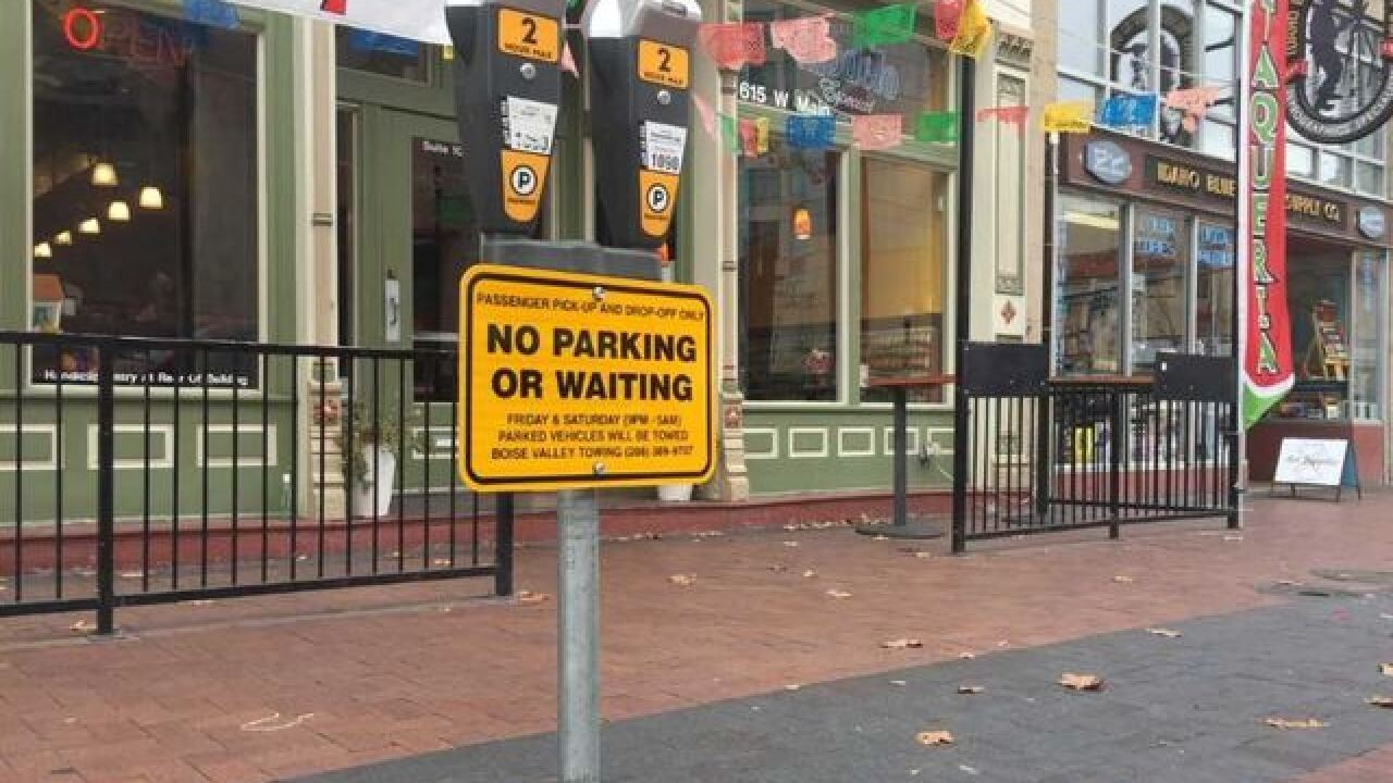 Downtown Boise's new pick-up/drop-off zone takes effect Friday