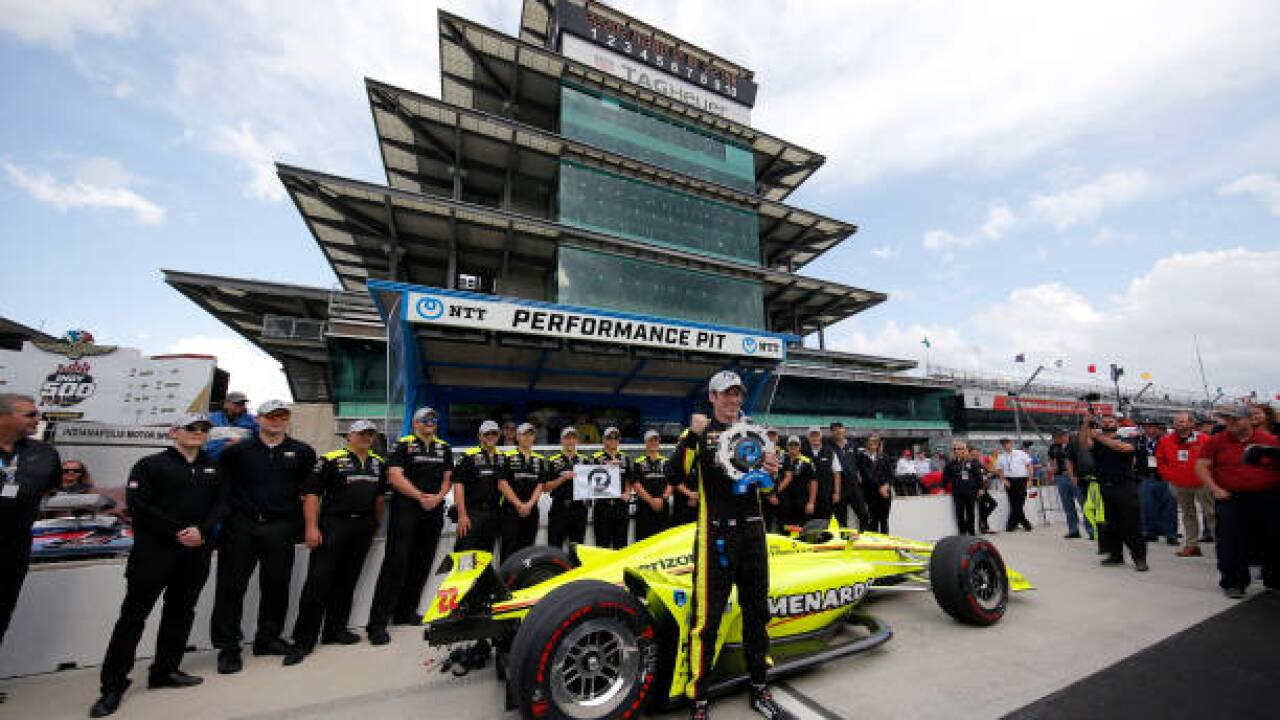 Simon Pagenaud takes first Indianapolis 500 pole with impressive run