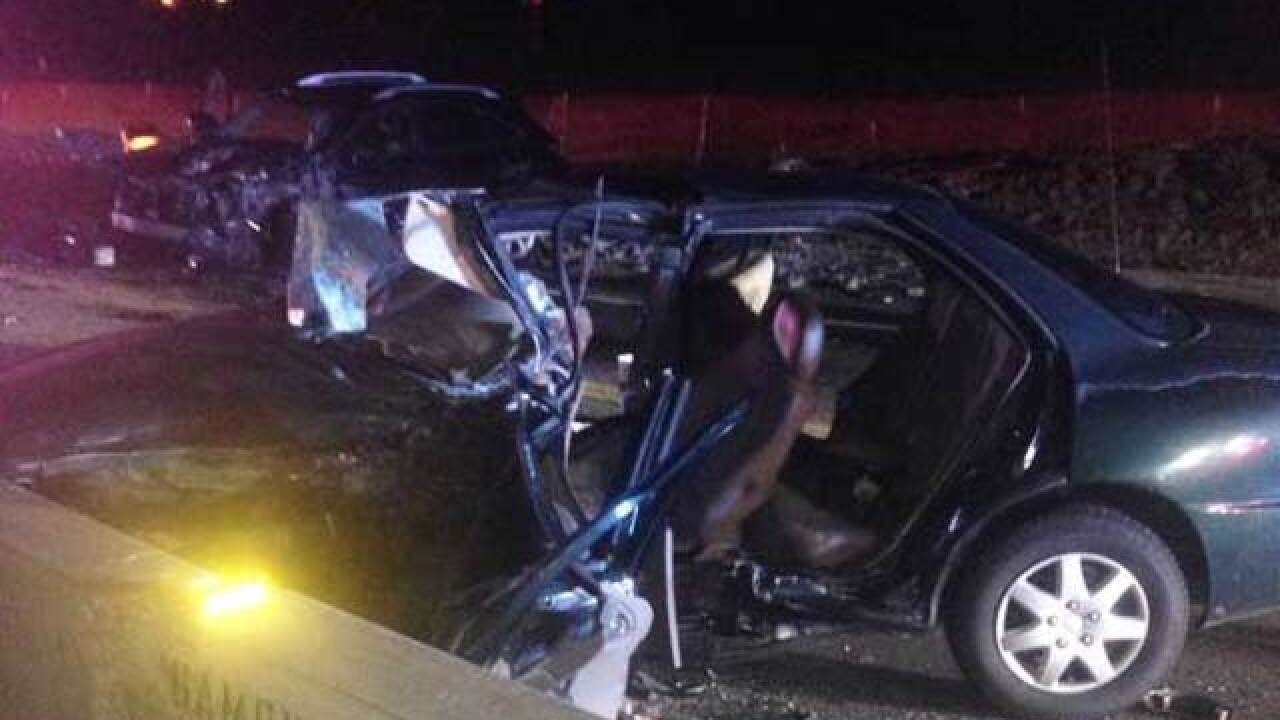 Suspected DUI crash leaves 2 injured