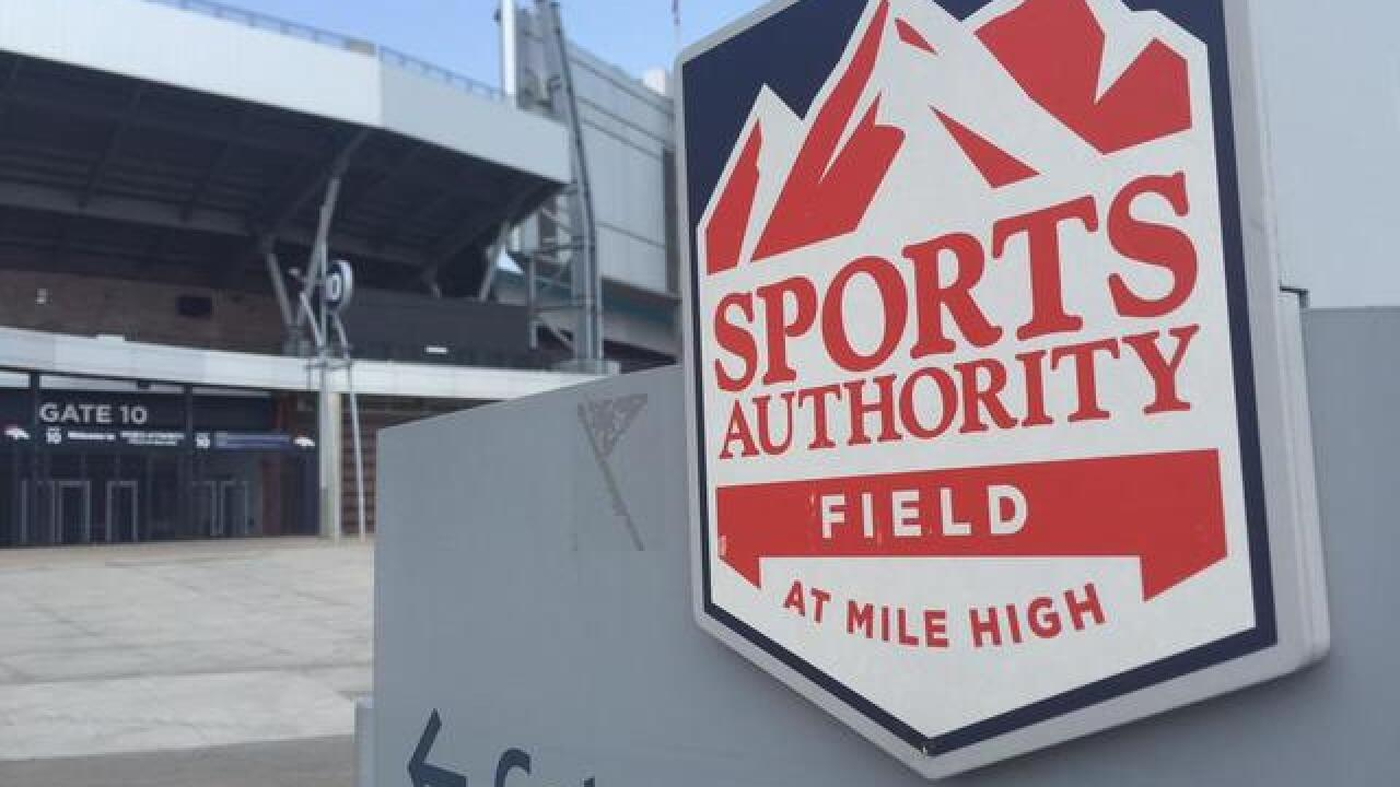 Bankruptcy court says Broncos can cancel Sports Authority sponsorship