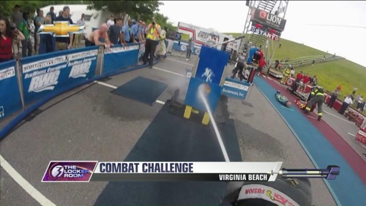 Firefighter Combat Challenge in VirginiaBeach
