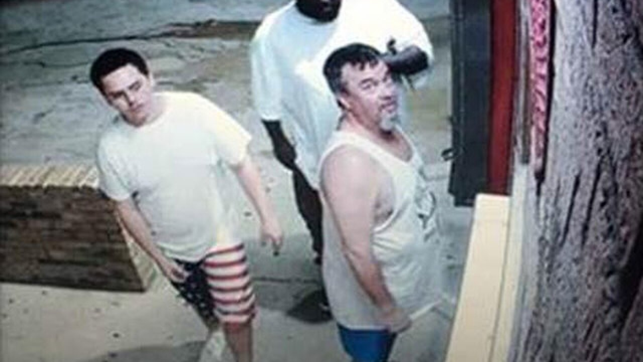 3 men wanted for stealing coins from car wash