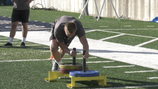 Bobcats football utilizes retired special operations officer to changeup practice