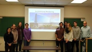 MSU engineering students