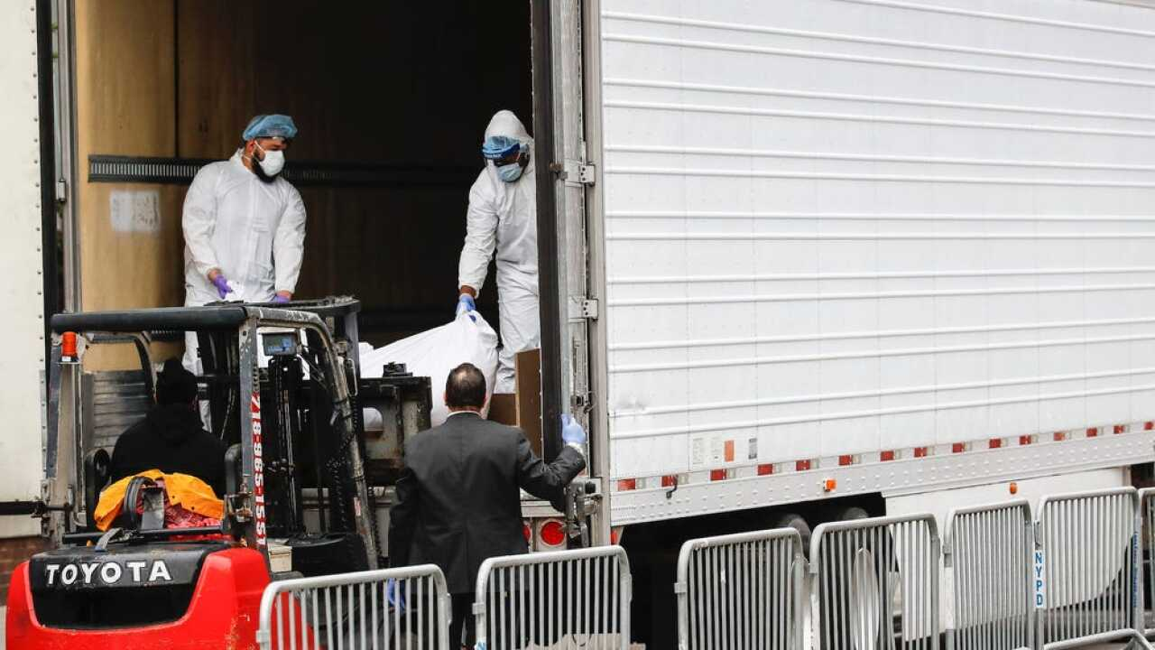 NYC refrigerated COVID-19 trailer AP photo.jpeg