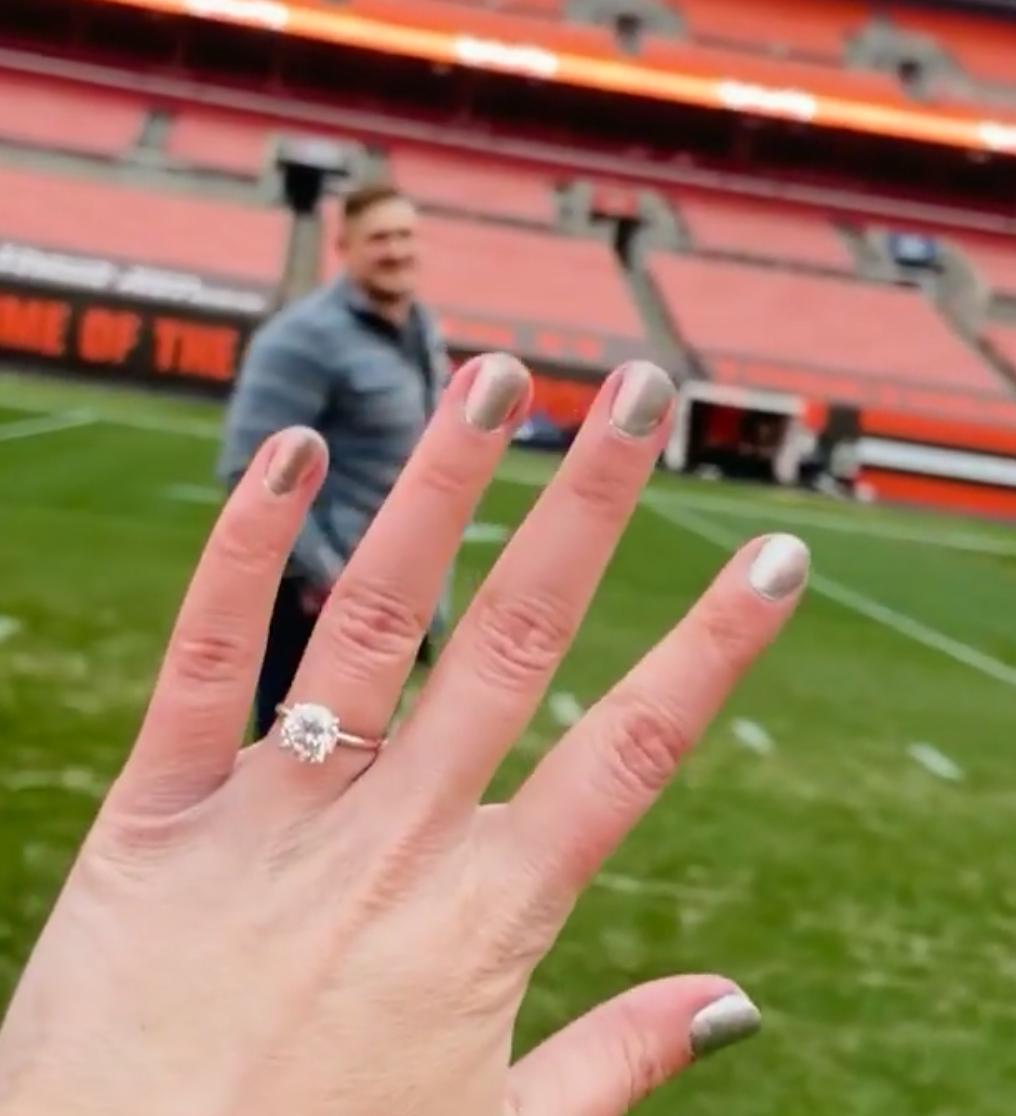 Carly Wyatt engagement