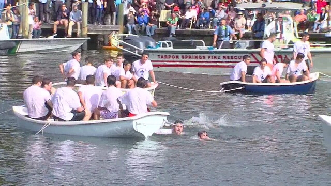 The 2017 Epiphany celebration in Tarpon Springs