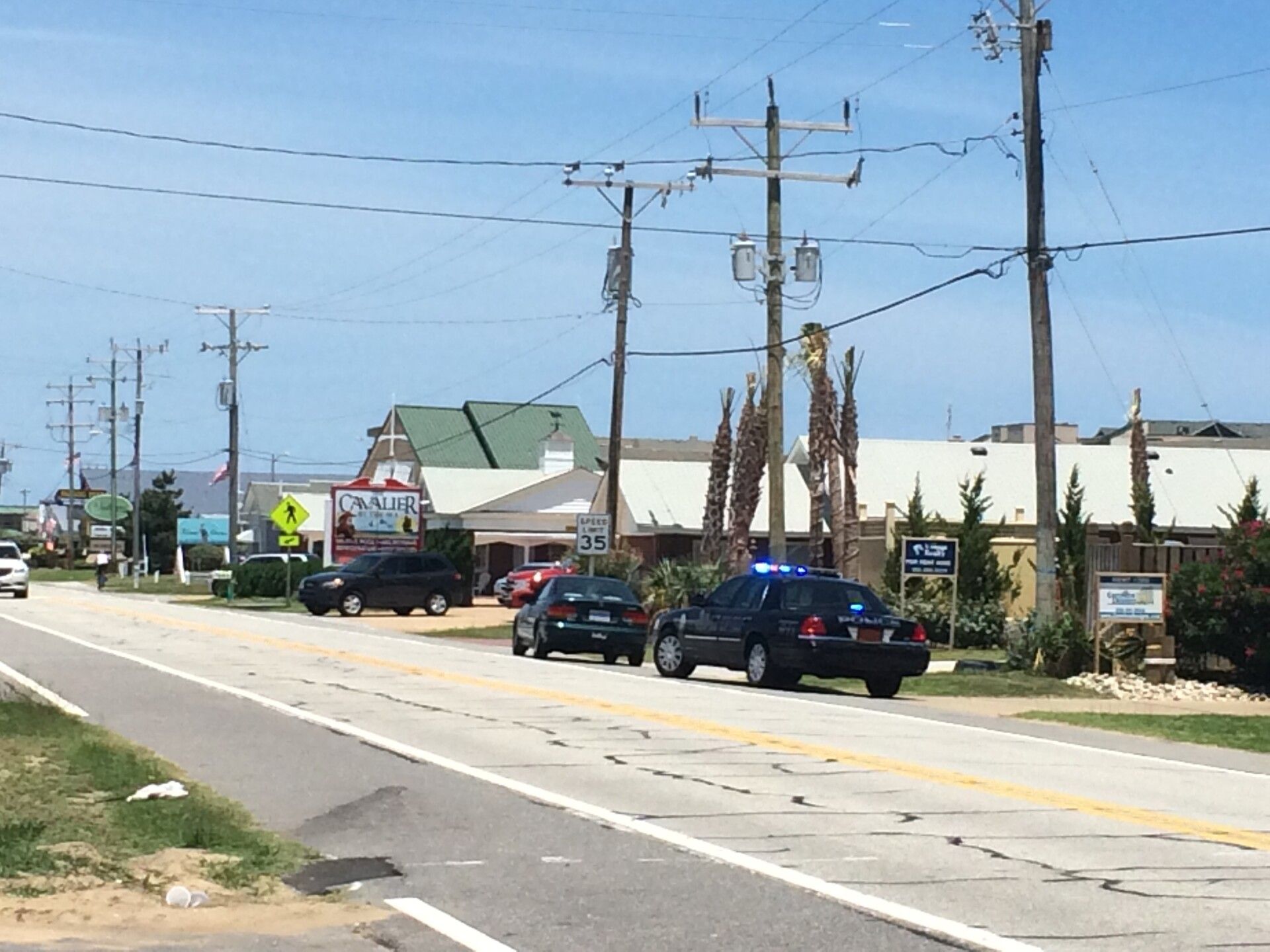 Photos: Dozens of drivers pulled over in the Outer Banks for violating pedestrianlaw