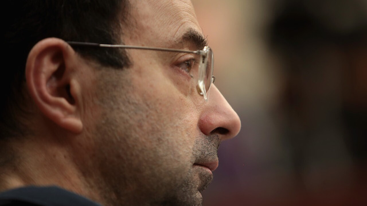 Larry Nassar being housed in Oklahoma after Arizona prison assault