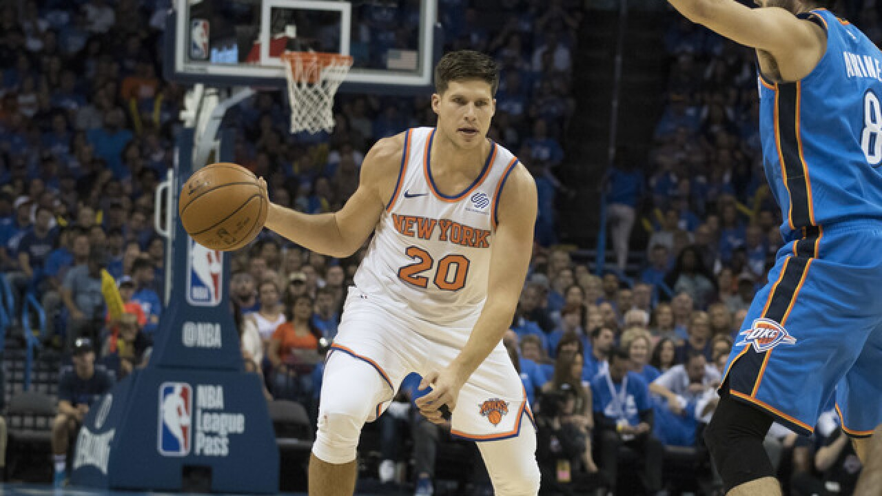 Doug McDermott drains game-tying three to send the Knicks to OT