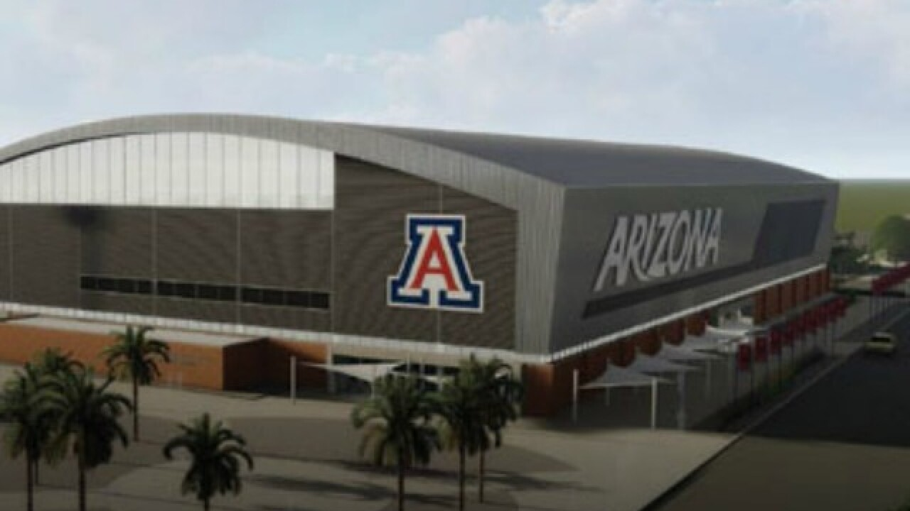 University of Arizona reveals images of planned upgrades to Arizona Stadium, McKale Center, more