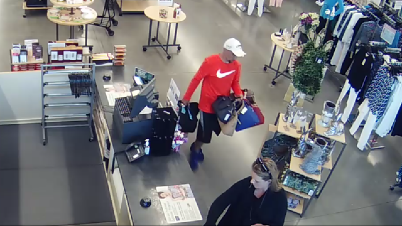 3c598cee7983 Police looking for man who stole about $2,000 worth of merchandise from Stein  Mart