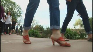 "Men will ""Walk a Mile in Her Shoes"" to raise awareness for sexual assault"