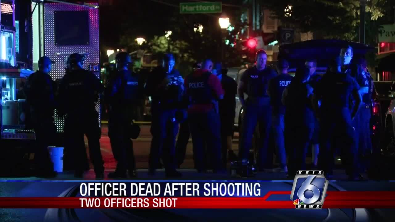 St. Louis police officer dies of wounds