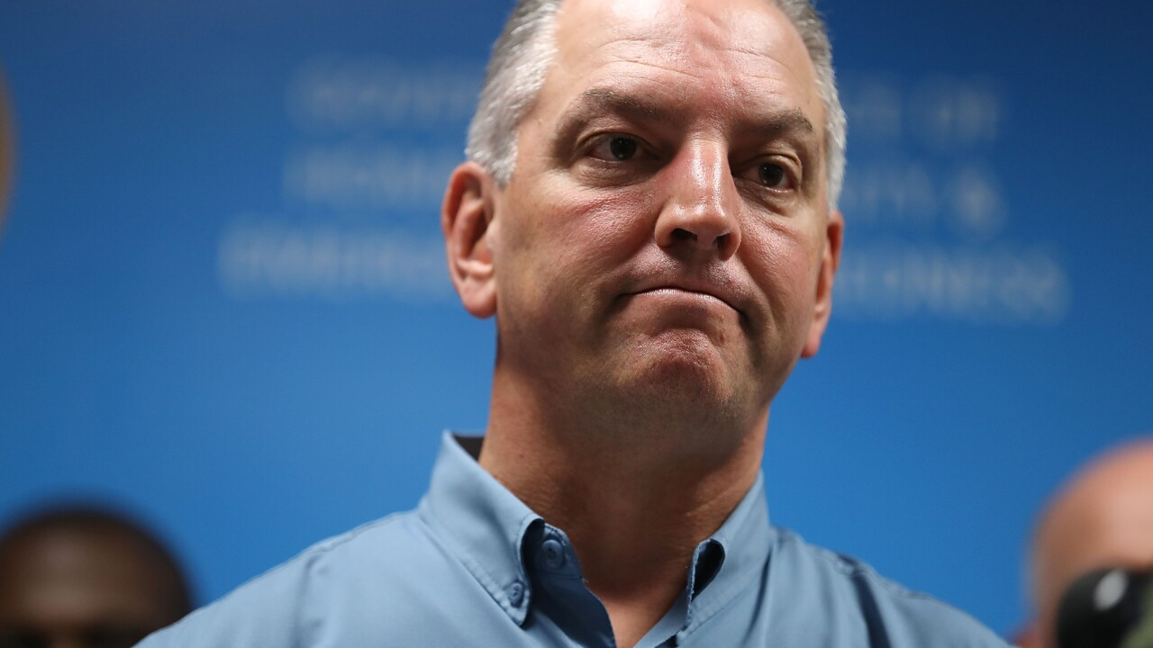 Louisiana's Democratic Gov. John Bel Edwards will narrowly win reelection, CNN projects