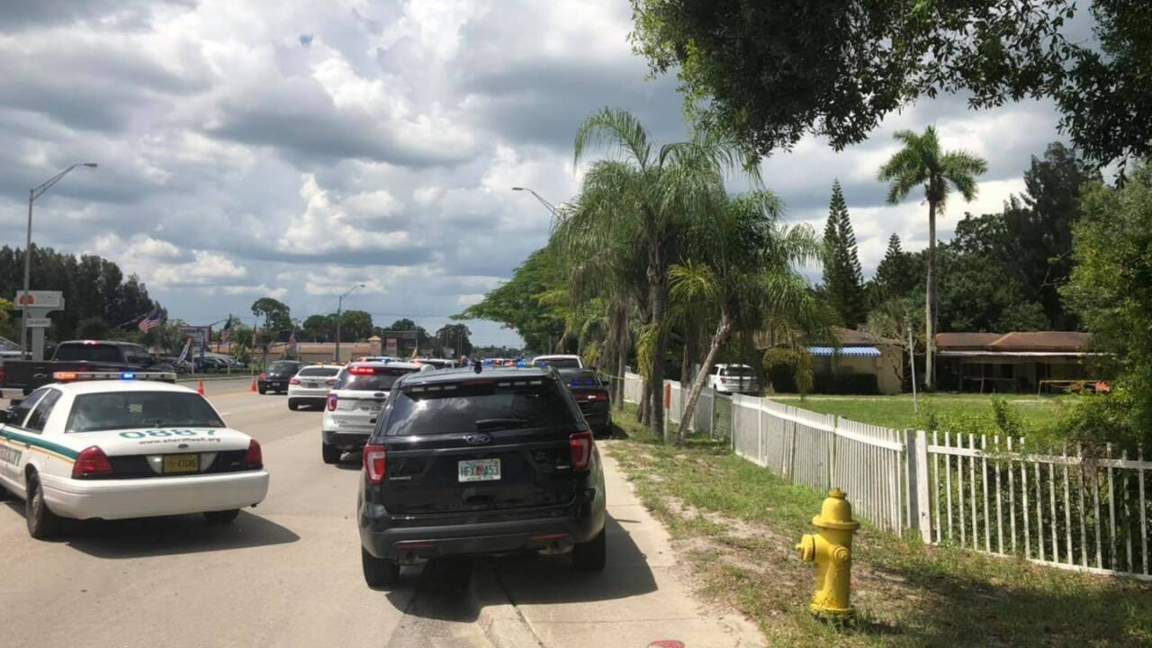 Officer Involved Shooting North Fort Myers.