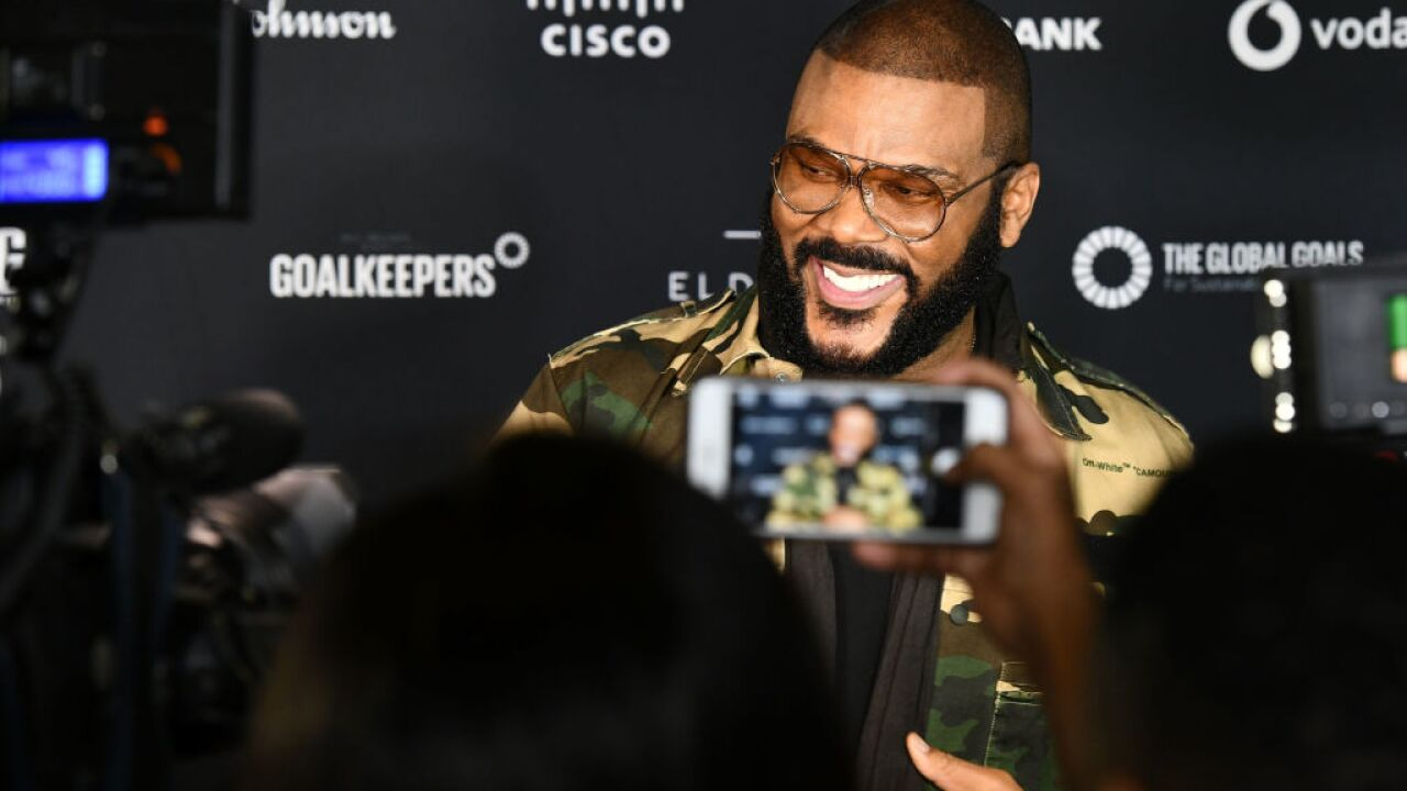 Tyler Perry wants people to stop taking out billboards to get his attention