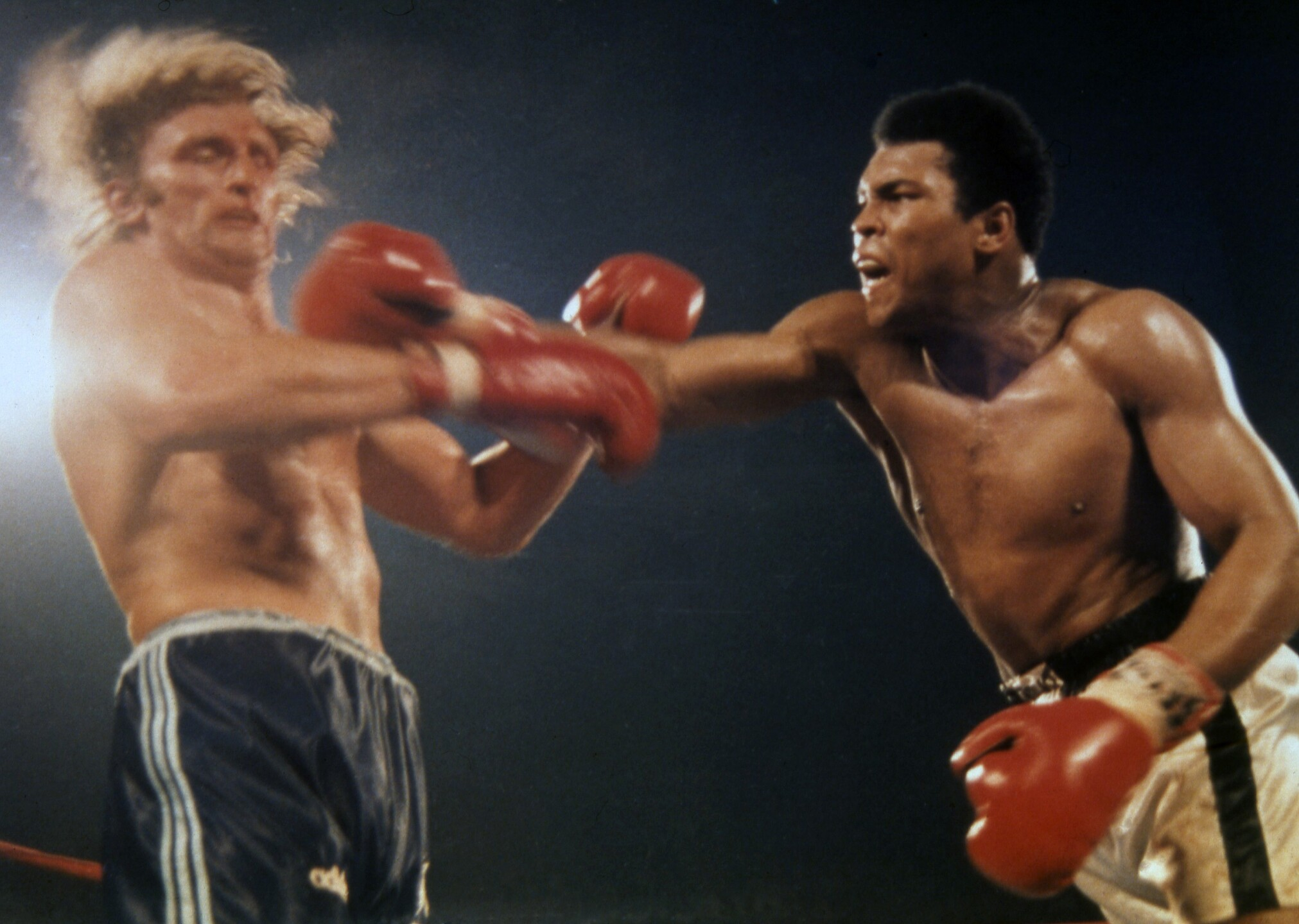 Boxing Muhammed Ali and Joe Bugner