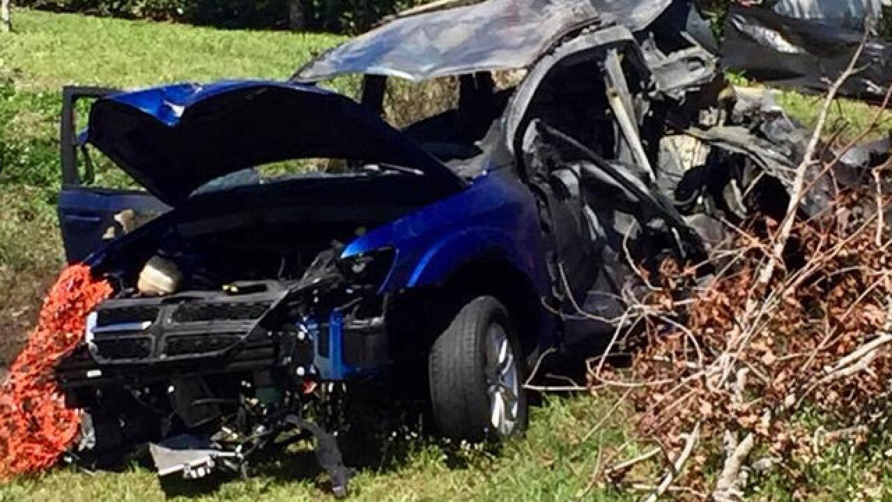 Brave bystanders rescue couple from burning vehicle in St. Lucie County